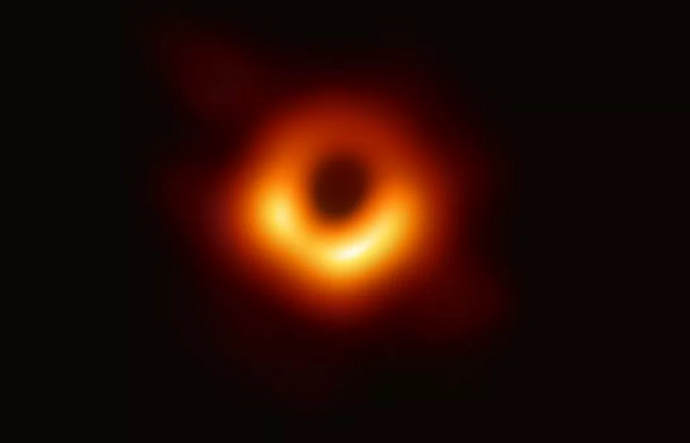 Humanity's First Ever Picture Of A Black Hole