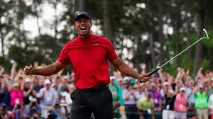 Tiger Woods wins the Masters for the fifth time