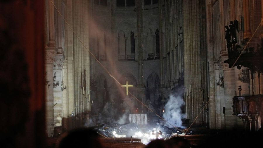 Plans to Rebuild Notre Dame Cathedral
