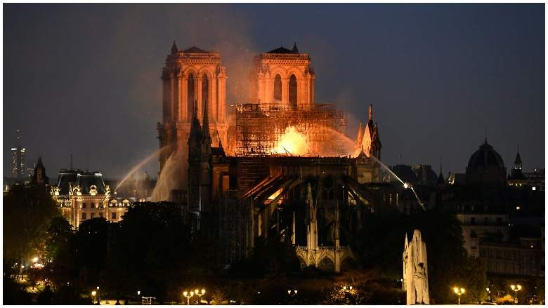Notre-Dame Cathederal Fire