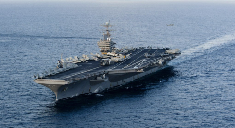 U.S. Sends Air Craft Carrier And Bomber Task Force To Iran
