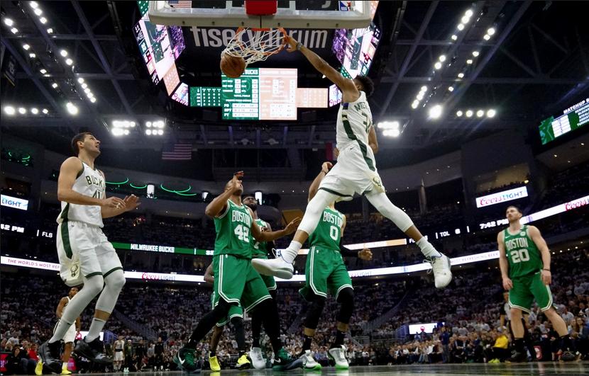 Bucks Dominate Celtics to Even the Series
