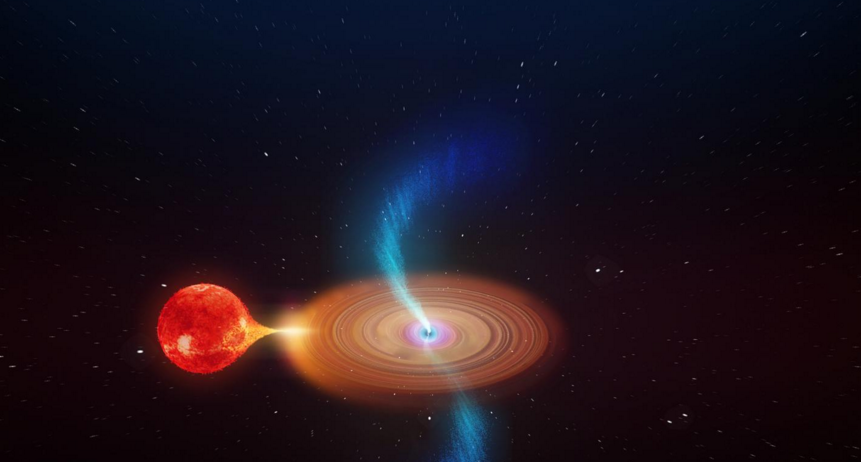 Scientists Discover Abnormal Black Hole
