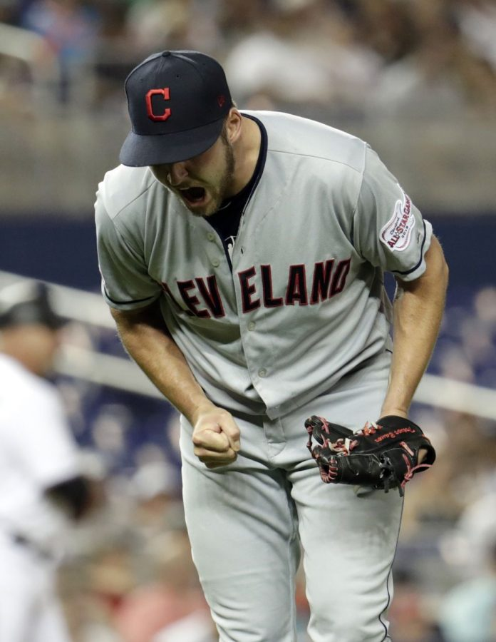 Cleveland Indians Beat Miama Marlins