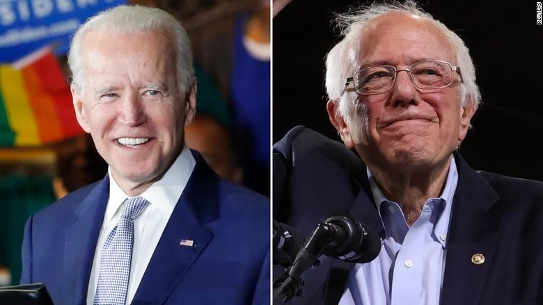 Biden takes lead over Sanders