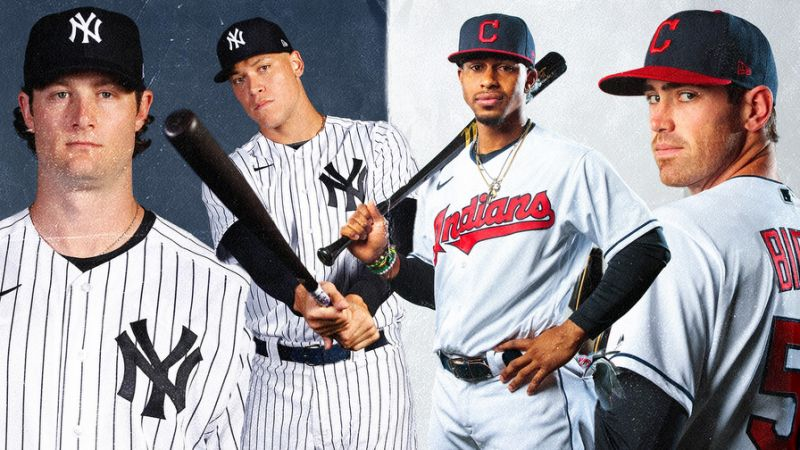Indians+v.s+Yankees+2020+Playoffs