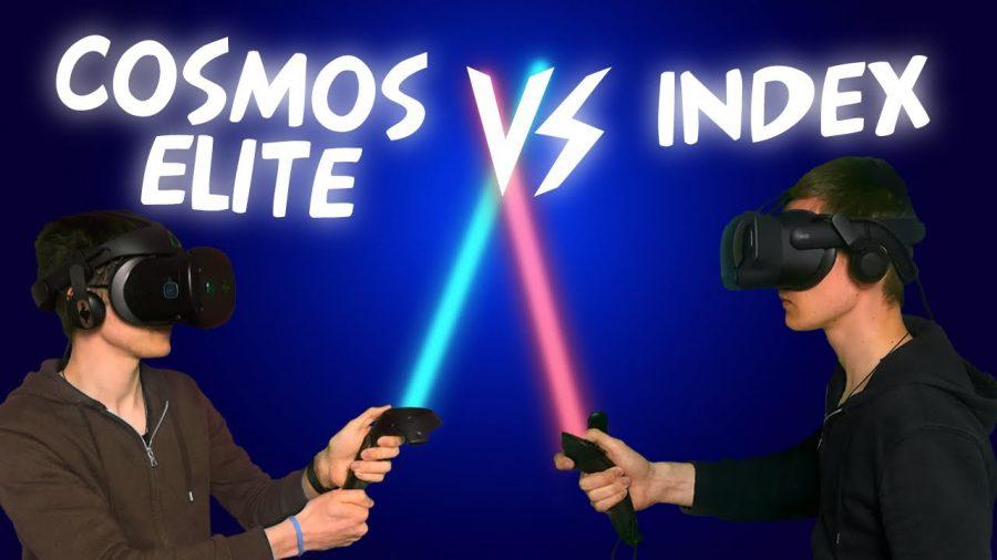 HTC Vice Cosmos Elite vs Valve Index
