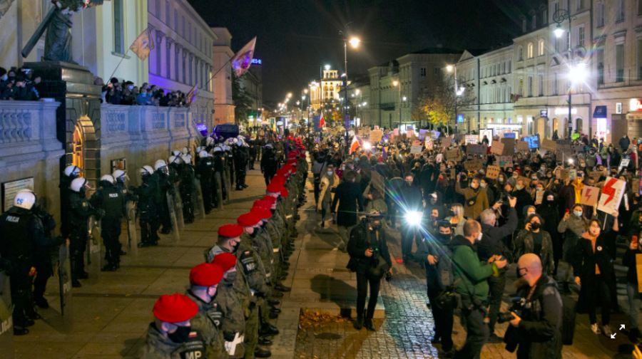Uprising in Poland