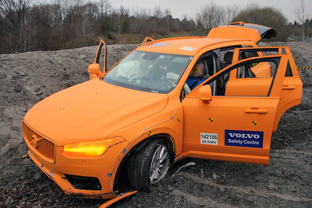 Volvo introduces the injury-proof car