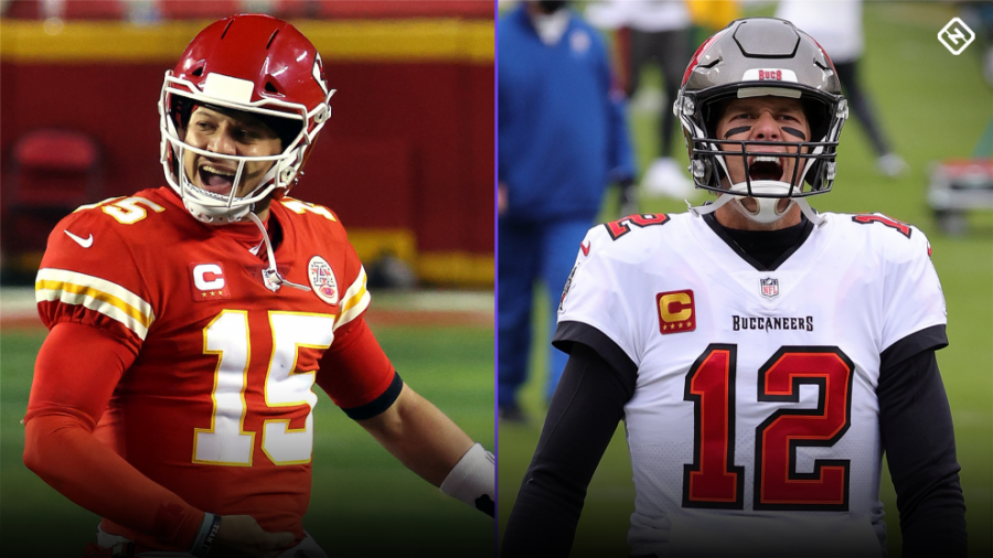 Super Bowl LV: Kansas City Chiefs V.S Tampa Bay Buccaneers