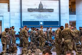 Over 20,000 Troops Are Stationed In Washington D.C.
