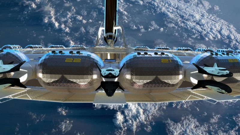 First Space Hotel Coming In 2027
