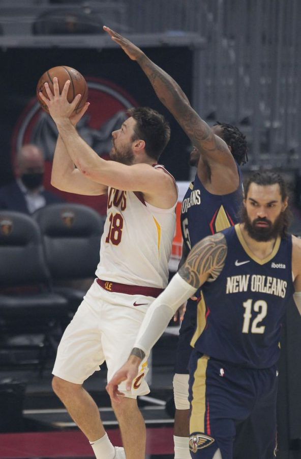 Cavs+fall+short+against+the+Pelicans