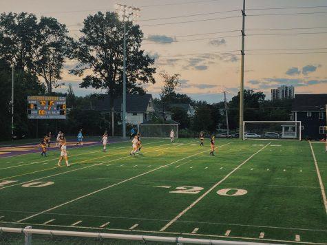 Lakewood Girls Soccer Takes On Elyria Catholic