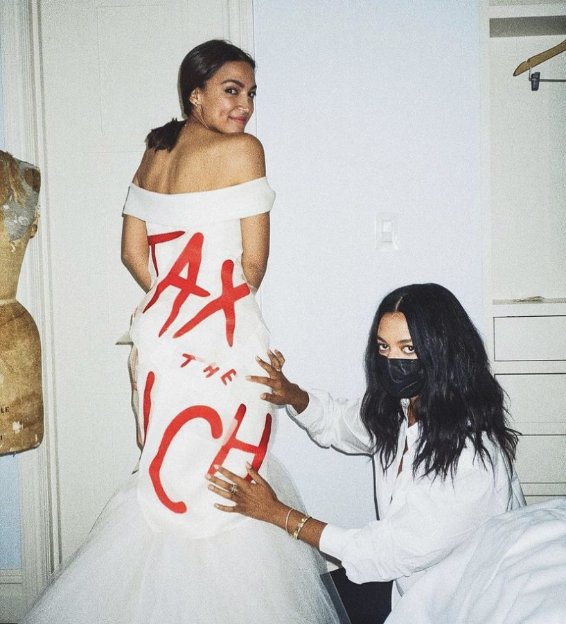 Rep.+AOC%E2%80%99s+2021+Met+Gala+Dress%3A+Iconic+or+Hypocritical%3F