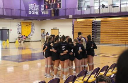 Lakewood High School Volleyball Battles Elyria Catholic