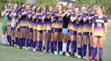 Lakewood Girls Soccer Youth Night vs Cardinal Mooney